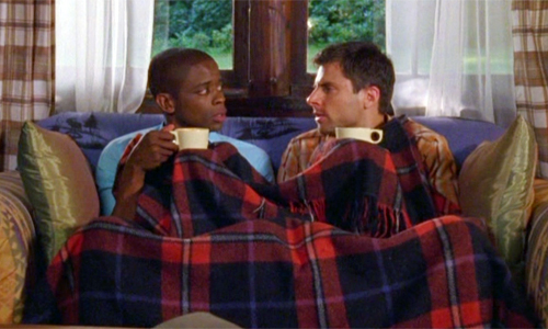 Shawn and Gus on the couch from 'Forget Me Not'