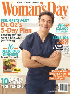 Women's Day Magazine Cover with Dr. Oz