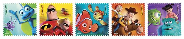 Disney/Pixar Forever Stamps