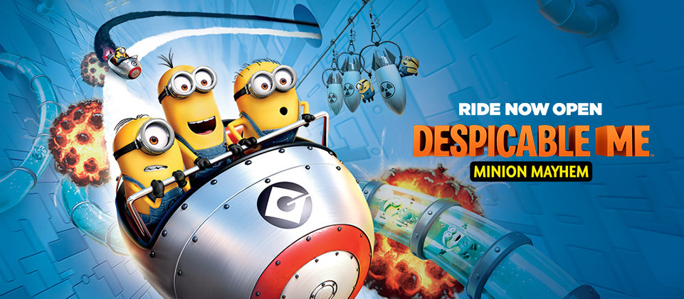 Minion Mayhem Ride (Image Courtesy of Universal Studios Hollywood)